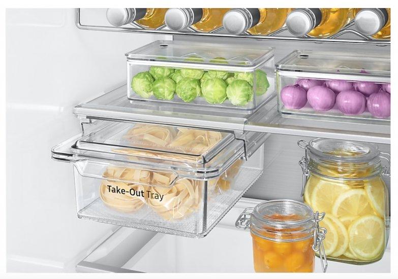 Il frigorifero da incasso Total No Frost